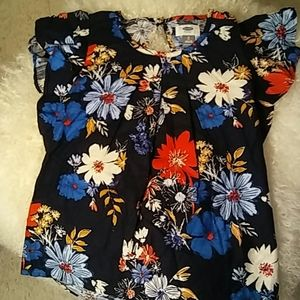 Old Navy Girl's Floral Top